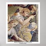 Frescos en la capilla de Eleonora DA Toledo Poster