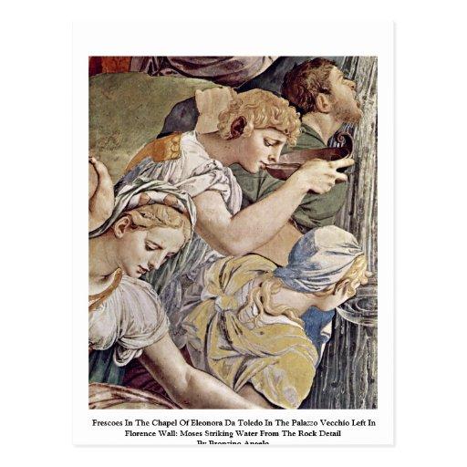 Frescos en la capilla de Eleonora DA Toledo Tarjeta Postal