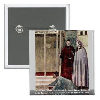 Frescos en la vida de St Francis de Assisi Pin