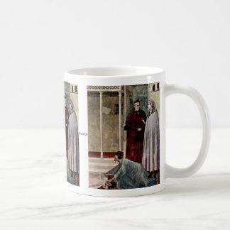 Frescos en la vida de St Francis de Assisi Tazas De Café