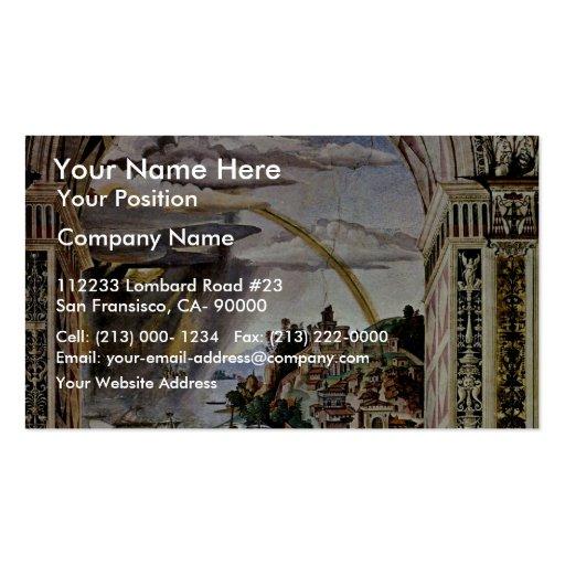 Frescos en la vida y los hechos tarjetas de visita