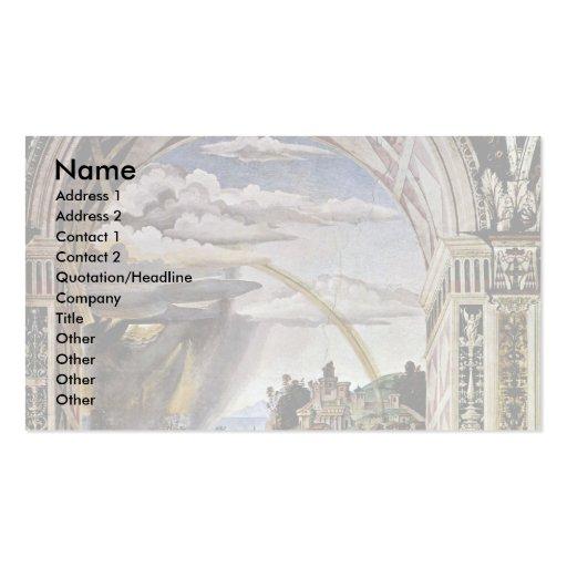 Frescos en la vida y los hechos tarjeta de visita