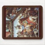 Frescos en las casas Máximo en Roma Ariosto Pasill Alfombrilla De Ratón