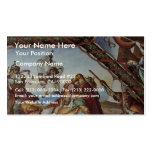 Frescos en las casas Máximo en Roma Ariosto Pasill Tarjeta De Visita