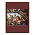 Frescos en las casas Máximo en Roma Ariosto Pasill Tarjetas Postales