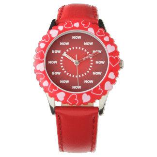 """Frescos estupendos """"AHORA"""" miran (el rojo) Relojes"""