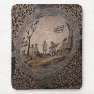 Frescos of Assisi II Mouse Pad