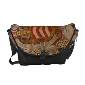 Frescos of Assisi Italy Courier Bag