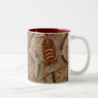 Frescos of Assisi Italy III Two-Tone Coffee Mug