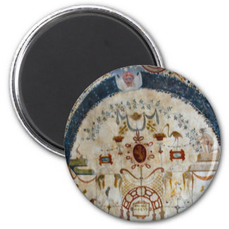 """""""Frescos of Assisi Italy IV"""" Magnets"""
