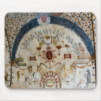 """""""Frescos of Assisi Italy IV"""" Mouse Pad"""