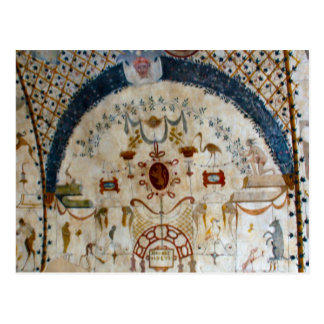 """""""Frescos of Assisi Italy IV"""" Postcard"""