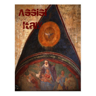 Frescos of Assisi Postcard