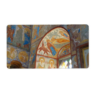 Frescos rusos etiquetas de envío