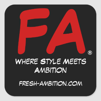 Fresh Ambition Sticker
