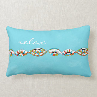 fresh and bright southwestern coloured pillow