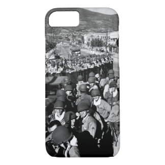 Fresh and eager U.S. Marine troops_War Image iPhone 7 Case