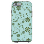Fresh and Fancy Floral - Blue (2) iPhone 6 Case