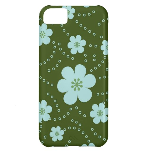 Fresh and Fancy Spring Floral iPhone 5C Covers