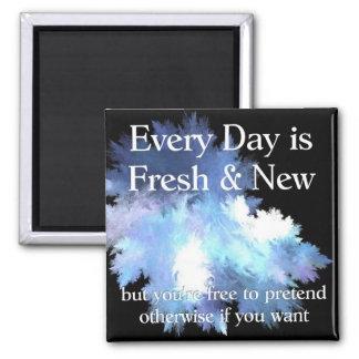 Fresh and New Fridge Magnet