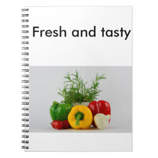Fresh and tasty notebook