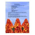 Fresh Apple Cake Recipe Postcard