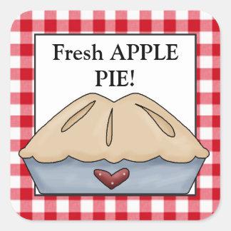 Fresh apple pie vendors sticker