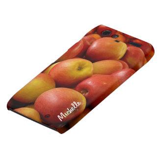 Fresh Apples Custom Droid RAZR Cell Phone Case Motorola Droid RAZR Cover