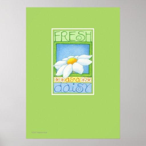 Fresh as a Daisy Print