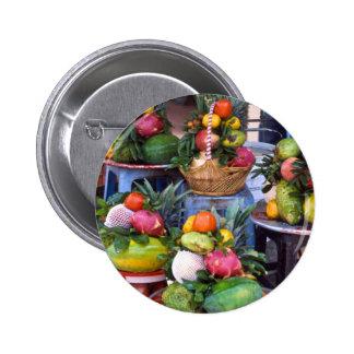 Fresh Asian Fruits Button