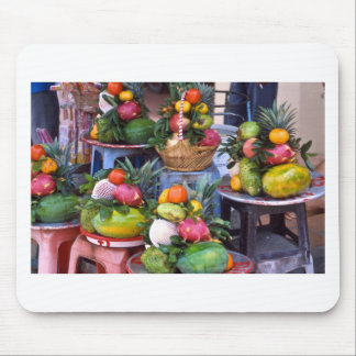 Fresh Asian Fruits Mouse Pad