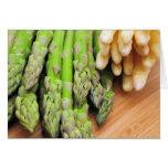 Fresh Asparagus Greeting Cards