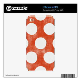 Fresh Attractive Beautiful Distinguished iPhone 4 Decals