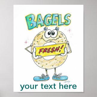 Fresh Bagel Sign