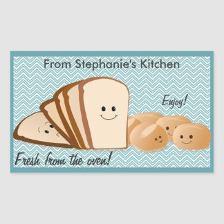 Fresh Baked Bread Gift Tag