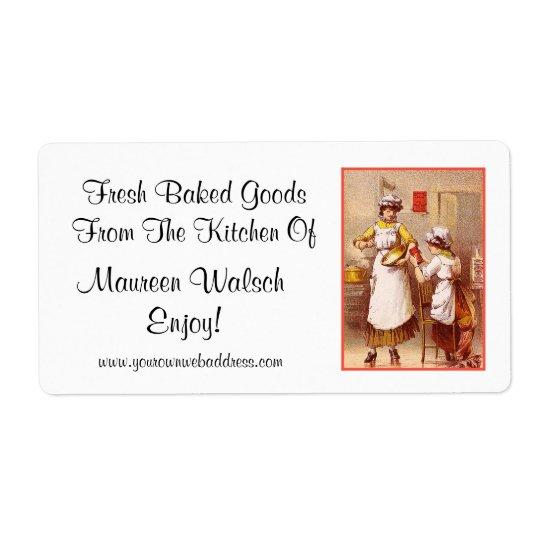 Fresh Baked Goods ~ Vintage Label