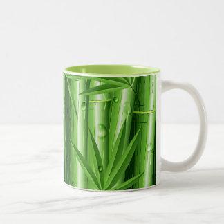 Fresh Bamboo with Dew Mug