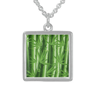 Fresh Bamboo with Dew Necklace