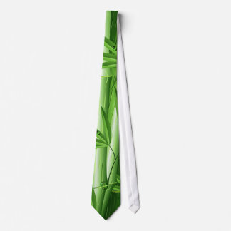 Fresh Bamboo with Dew Tie