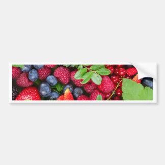 Fresh berries bumper sticker