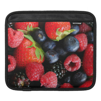 Fresh berries iPad sleeve