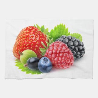Fresh berries towels