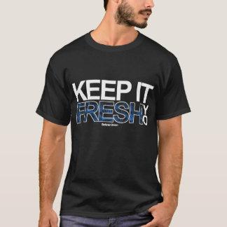 FRESH; black. T-Shirt