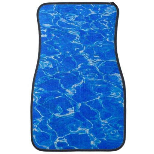 Fresh Blue Water Floor Mat Zazzle