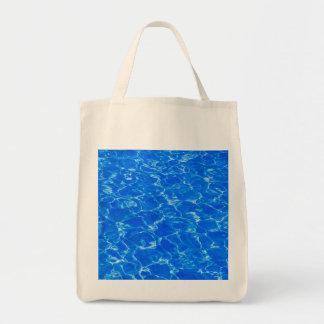 Fresh Blue Water Tote Bag