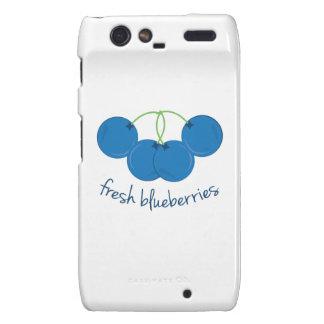 Fresh Blueberries Motorola Droid RAZR Cover