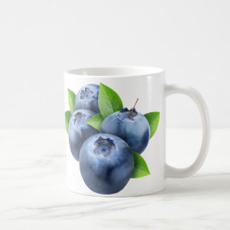 Fresh blueberries coffee mug