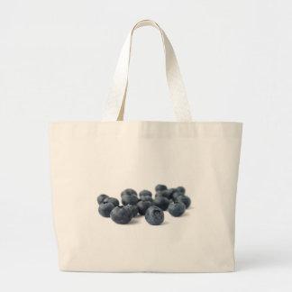 Fresh Blueberries Large Tote Bag