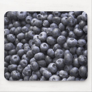 Fresh blueberries mouse pad