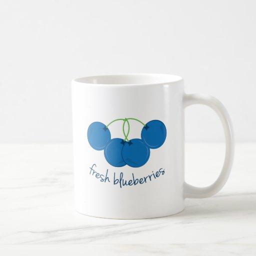 Fresh Blueberries Mugs